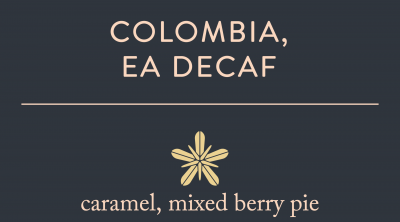 Decaf – Colombia (EA Processed)