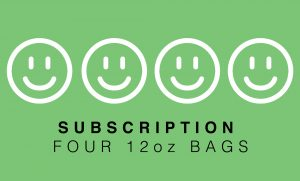 Subscription – 4 bags