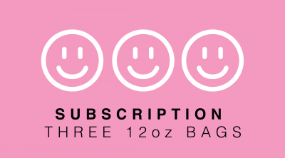 Subscription – 3 bag
